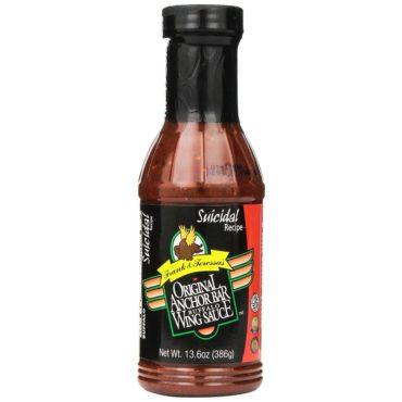 Anchor Bar Buffalo Wing Sauce - Suicidal