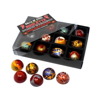 'Balls Of Steel' Chilli Chocolate Roulette - Hotties Edition
