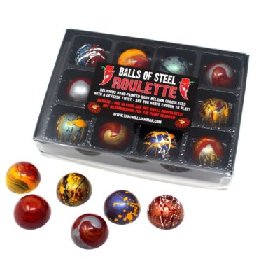 'Balls Of Steel' Chilli Chocolate Roulette - Extreme Edition