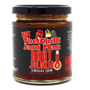 The Chilli Jam Man Bhut Jolokia Jam