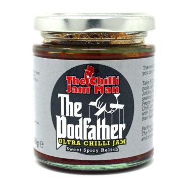 The Chilli Jam Man The Podfather Ultra Jam