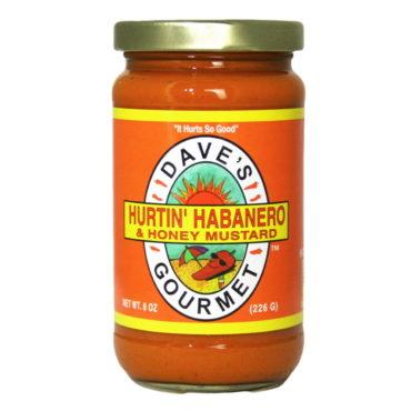 Dave's Gourmet Hurtin' Habanero & Honey Mustard