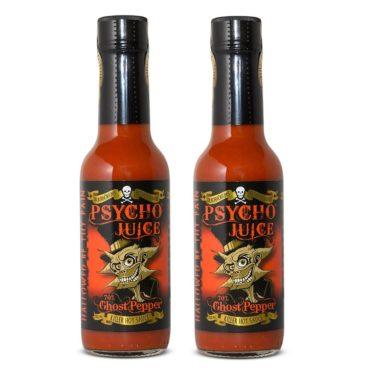 *PSYCHO JUICE 70% Ghost Pepper x 2 bottles