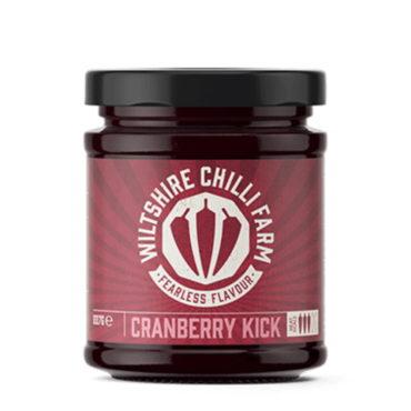 Wiltshire Chilli Farm Cranberry Kick Preserve