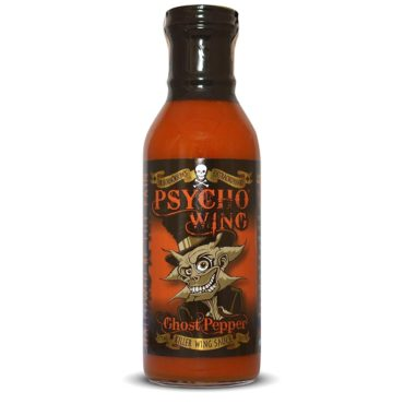 *PSYCHO WING Ghost Pepper Chicken Wing Sauce