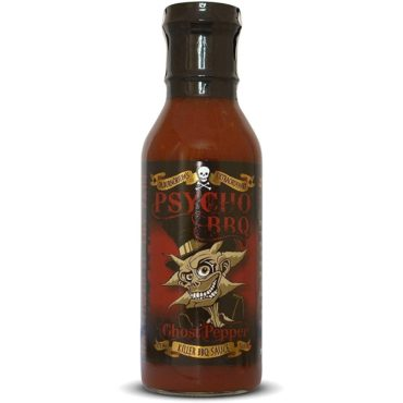 *PSYCHO BBQ Ghost Pepper Barbecue Sauce