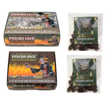 *PSYCHO GAMES BUNDLE with extra Psycho Bullets