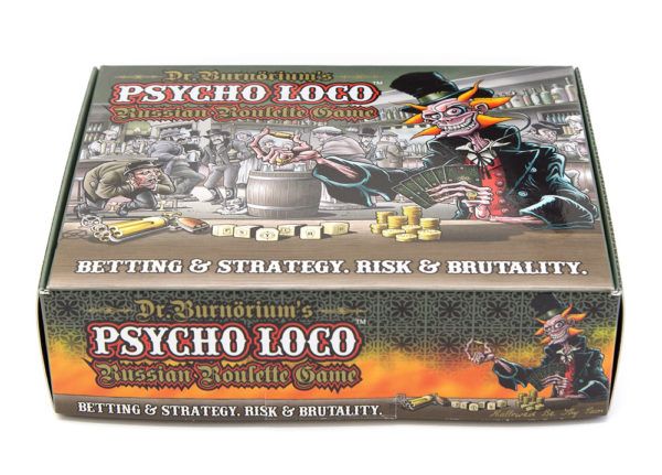 *PSYCHO LOCO Russian Roulette Game - Standard Edition