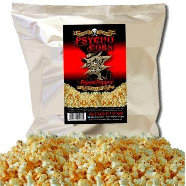 *PSYCHO CORN Ghost Pepper Popcorn x 3 bags