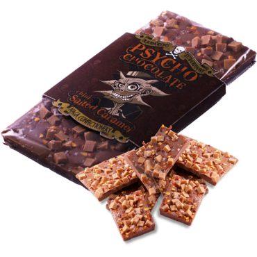 *PSYCHO CHOCOLATE - Salted Caramel with Naga Jolokia Chilli